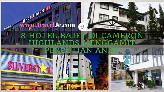 8 Hotel Bajet Di Cameron Highlands Menggamit Percutian Anda