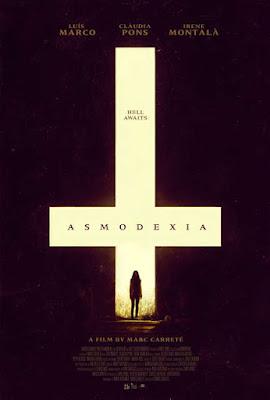 Cartel oficial español: Asmodexia (2014)