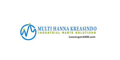 Lowongan Kerja PT. Multi Hanna Kreasindo Bekasi