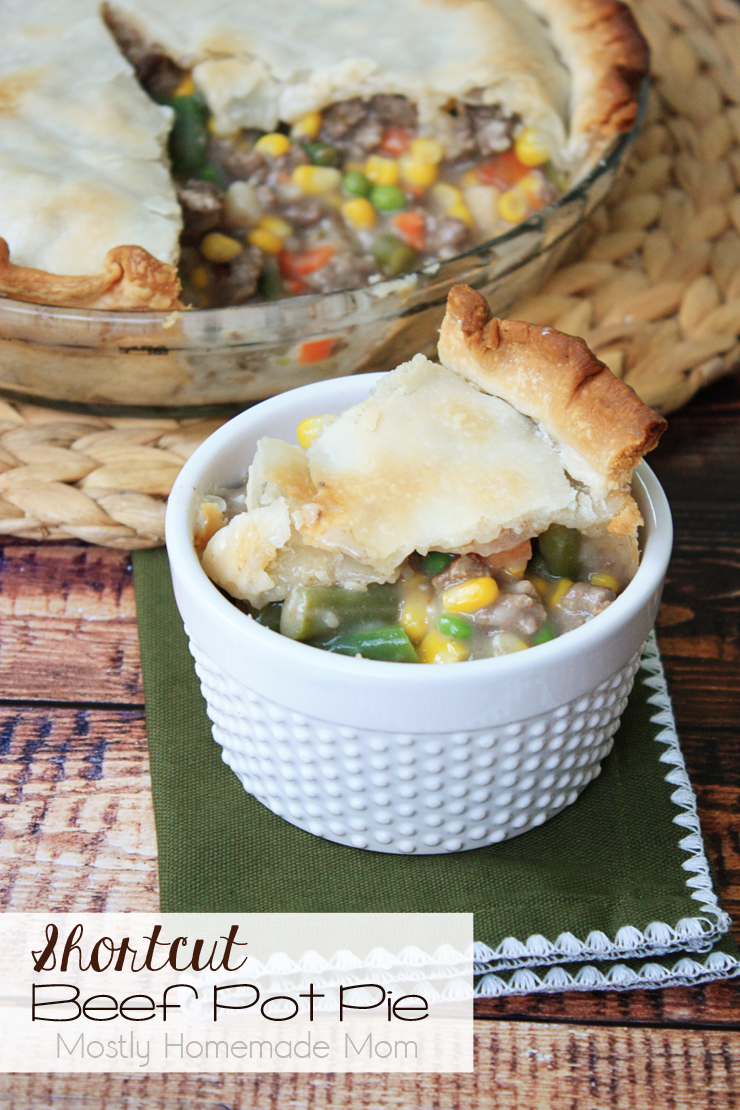 Shortcut Beef Pot Pie