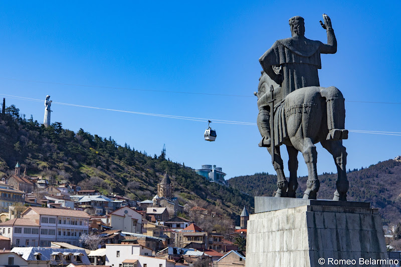 King Vakhtang I Gorgasali Statue Things to Do in Tbilisi Georgia