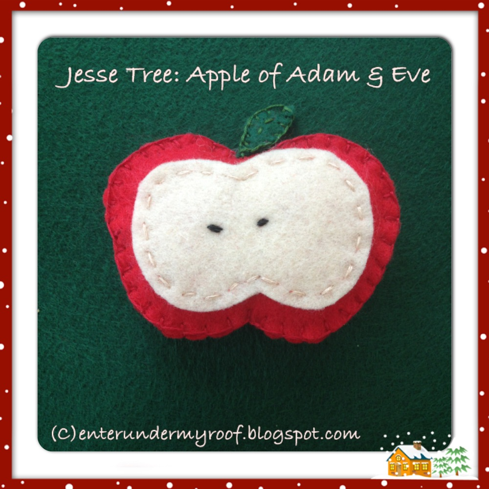 Activity Jesse Tree Ornament Apple Faith And Fabric