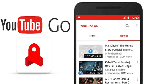 Download Aplikasi YouTube Go Androidi OS Terbaru