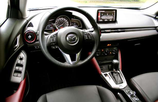 Mazda CX-3: electric power steering