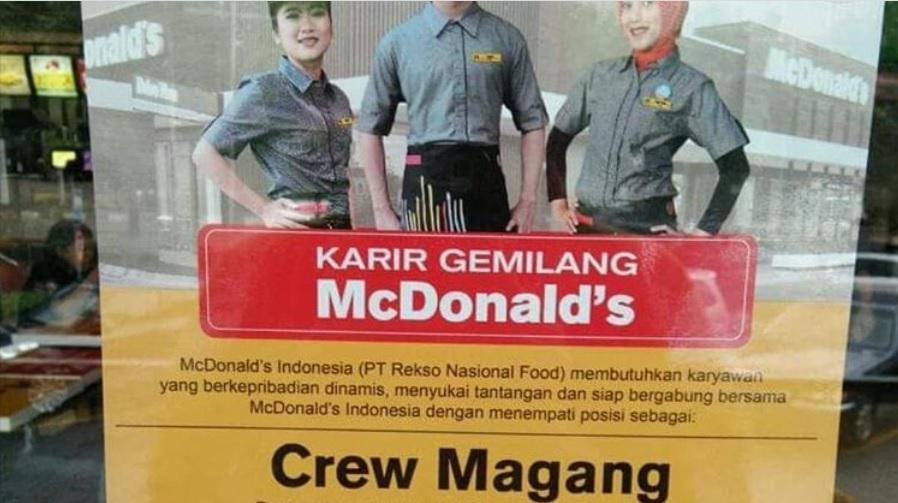 Cara Magang Kerja Di McDonald Indonesia