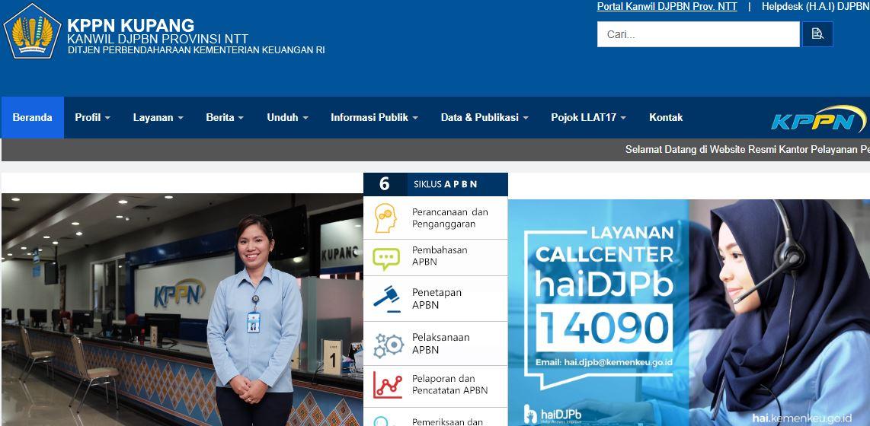 Alamat Lengkap Dan Nomor Telepon Kantor KPPN Di NTT