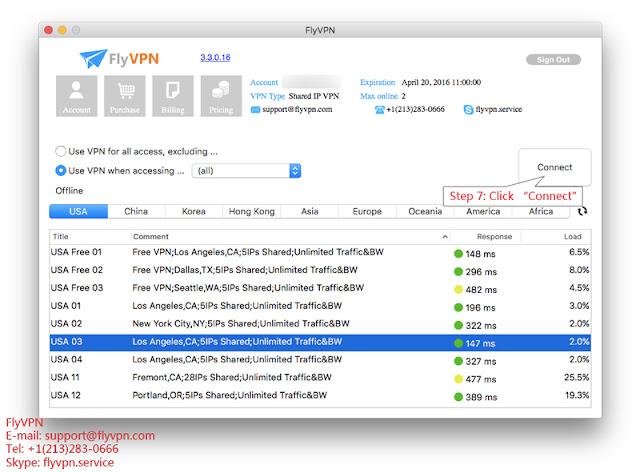 Mac用戶端點擊連線VPN