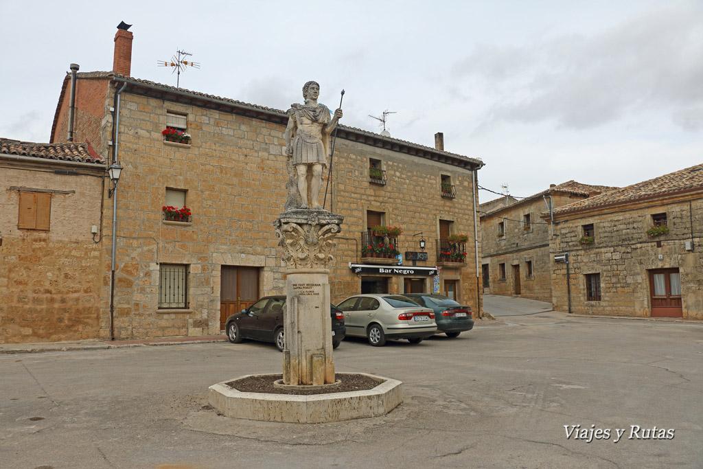 Plaza de Segisama, Sasamón, Burgos