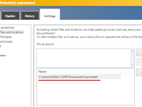 Setting Pengecualian File Scanning pada Windows Defender