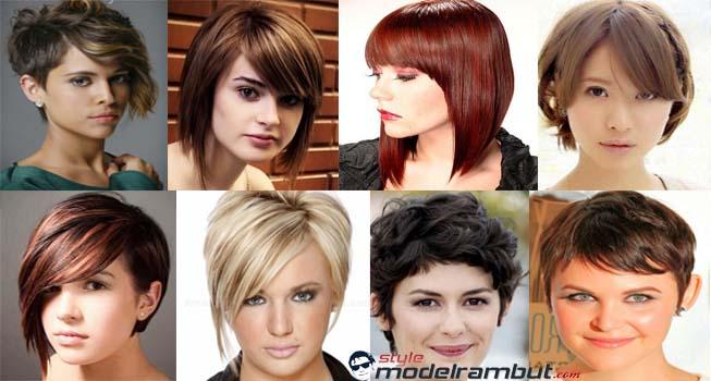 11+ Potongan Model Rambut Pendek Untuk Wajah Bulat dan Rambut ... a0bf6f16a4