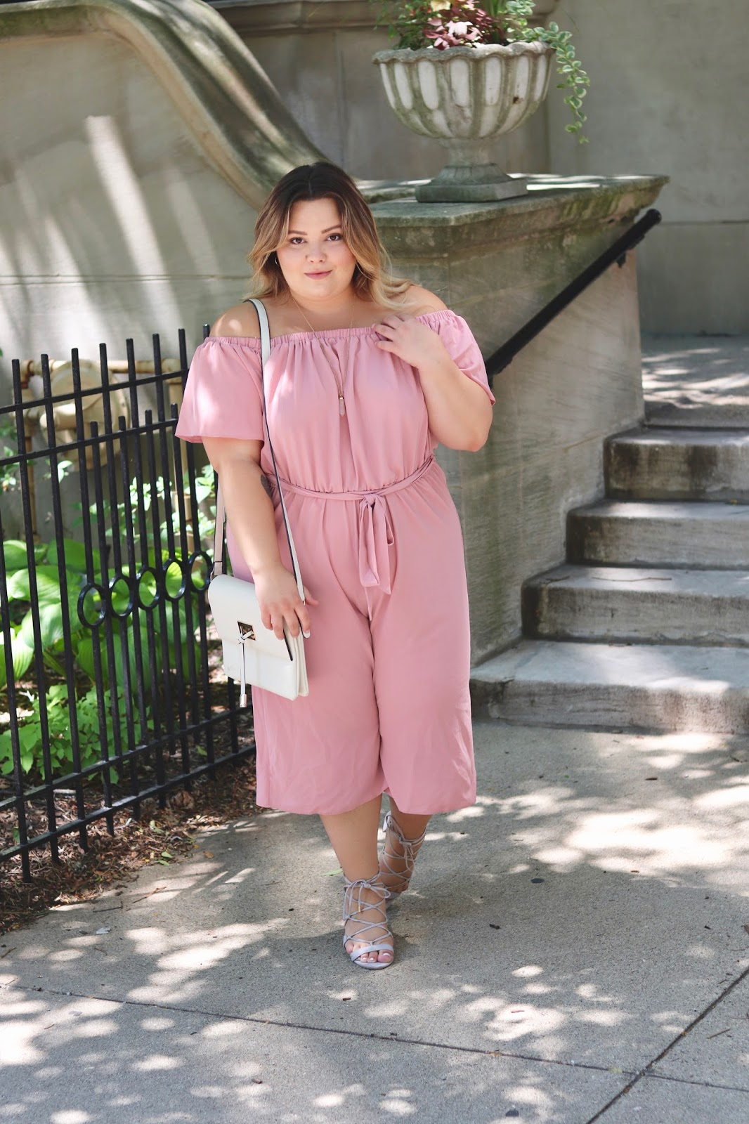 culotte jumpsuit, plus size jumpsuits, plus size rompers, affordable plus size fashion, back to school plus size fashion, natalie craig, natalie in the city, plus size fashion, plus size fashion blogger, Chicago fashion blogger, Chicago style, midwest blogger, yours clothing, plus size outfit, romantic outfit, curves and confidence, fatshion