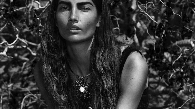 lily aldridge by hugh lippe for l'officiel paris august 2015