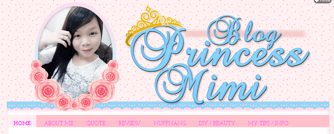 Template Blog Princess Mimi, edit blog murah, design blog murah