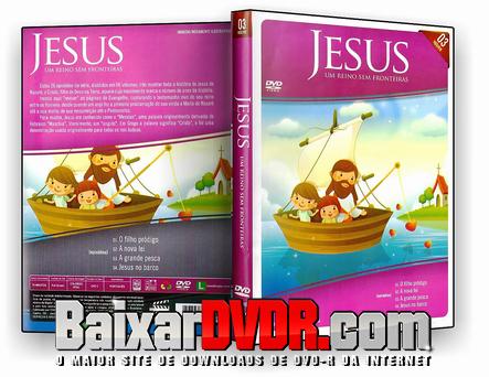 Jesus: Um Reino Sem Fronteiras Vol. 03 (2018) DVD-R