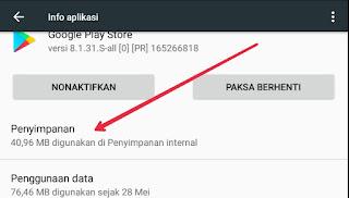 Cara mengatasi play store tidak bisa download 2