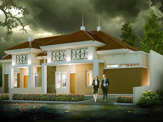 Desain rumah dinas pegawai