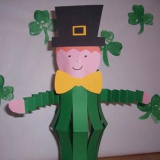 St-Patrick's-day-Paper-Shamrock