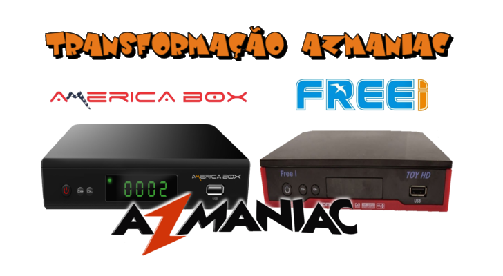 Américabox AMB3606 Transformado em Freei Toy