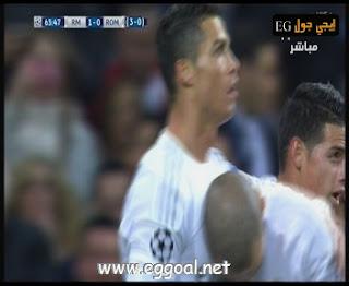 الثانى خاميس اسيست رونالدو #ريال_مدريد 2: 0 #روما ronaldo