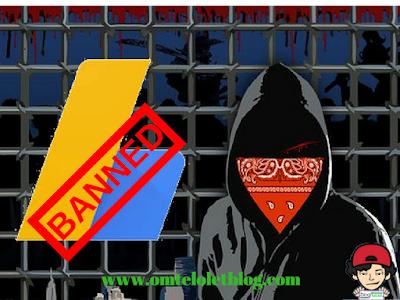Banned Google Adsense Tidak Membuatku Berhenti Ngeblog