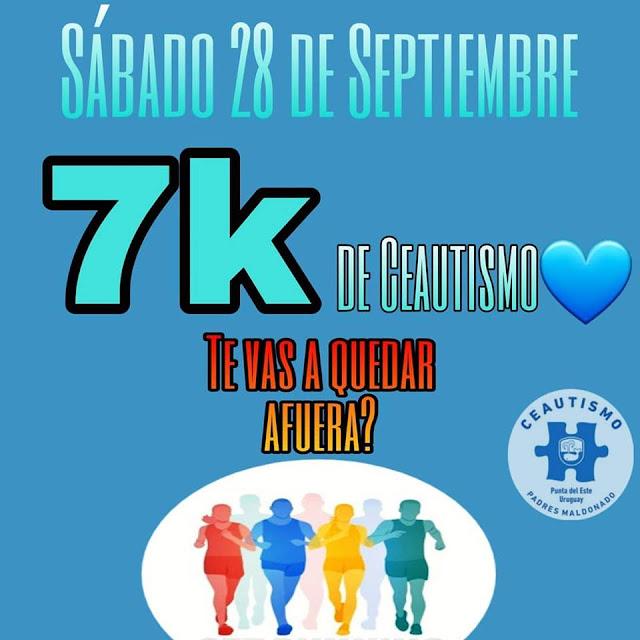 7k CEAutismo en Punta del Este (Maldonado, 28/sep/2019)