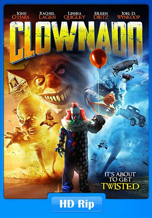Clownado 2019 720p HDRip ESub x264 | 480p 300MB | 100MB HEVC Poster