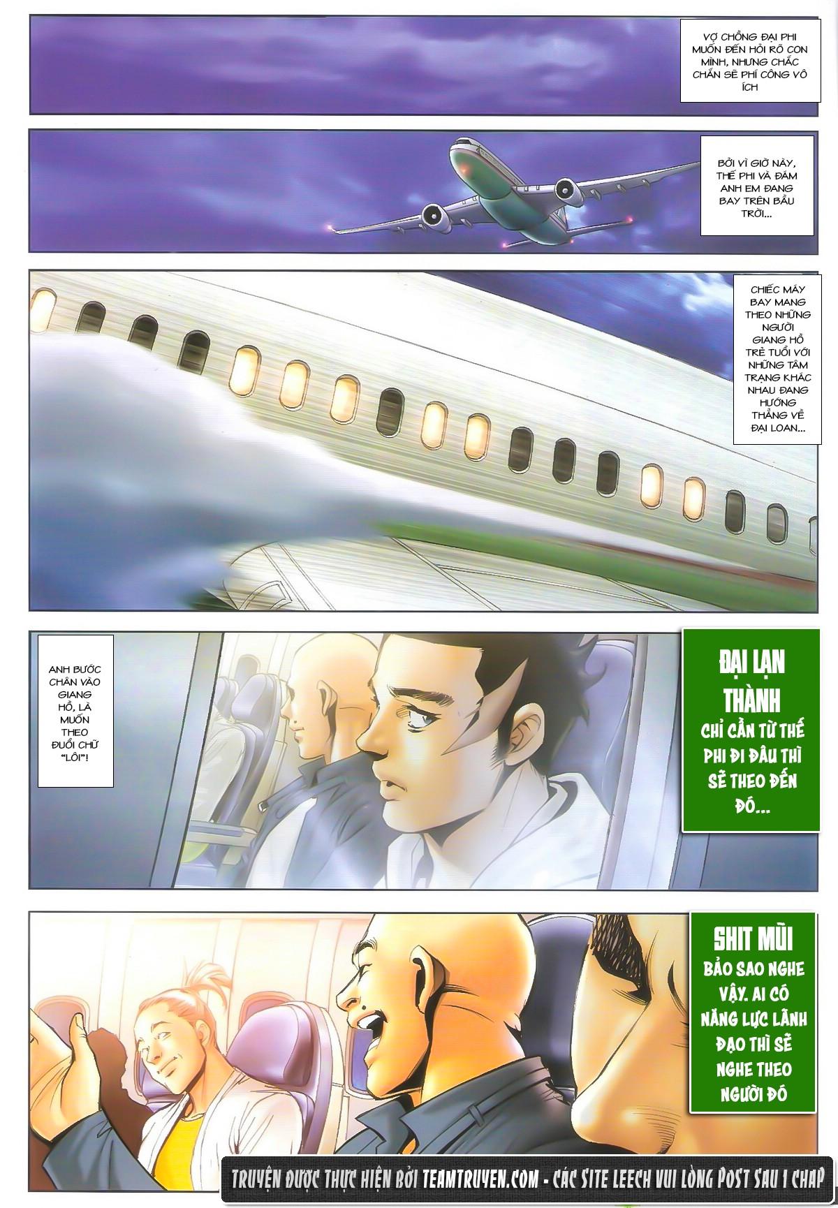 Người Trong Giang Hồ chapter 1604: hồng hưng vs trường lạc trang 11