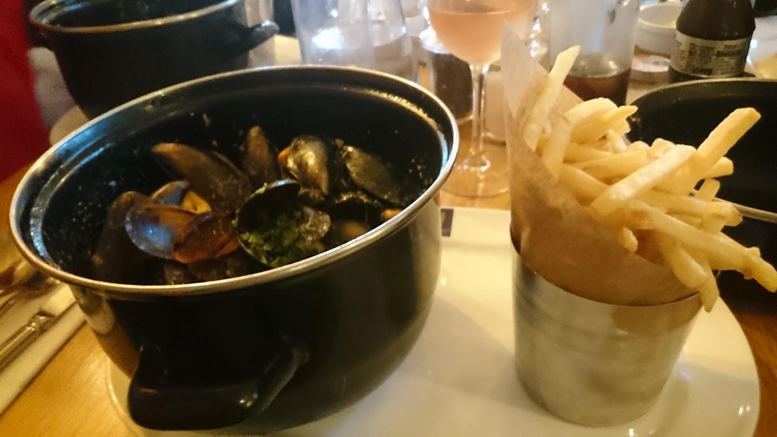Mussel Madness at Loch Fyne