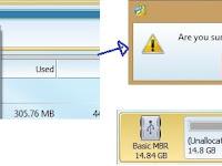 Cara Partisi SdCard atau MicroSD 16GB Menjadi 3 Bagian (FAT32, Ext2, dan Linux Swap) Menggunakan MiniTools Partition 9.1