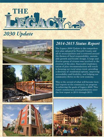 Legacy 2030 2014-2015 Status Report