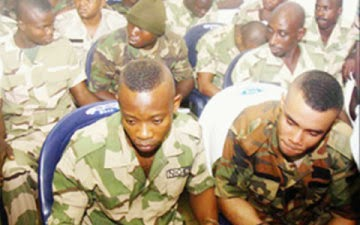 Mutiny: Trial of four Lt. Cols, 93 other soldiers begins