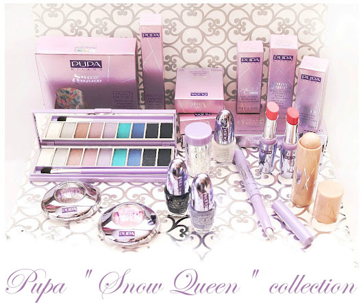 "Pupa ""Snow Queen"" collection - часть 1: одинарные тени, помады, тени-стик, лаки для ногтей"