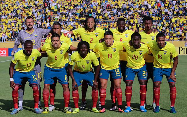 Formación de Ecuador ante Chile, Clasificatorias Rusia 2018, 6 de octubre de 2016