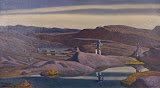 Tassiusak: Greenland by Rockwell Kent - Landscape Paintings from Hermitage Museum