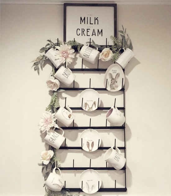 milk and cream special order sign
