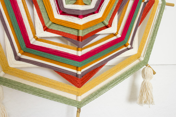 diy ojo de dios das auge gottes green bird diy mode deko und interieur. Black Bedroom Furniture Sets. Home Design Ideas