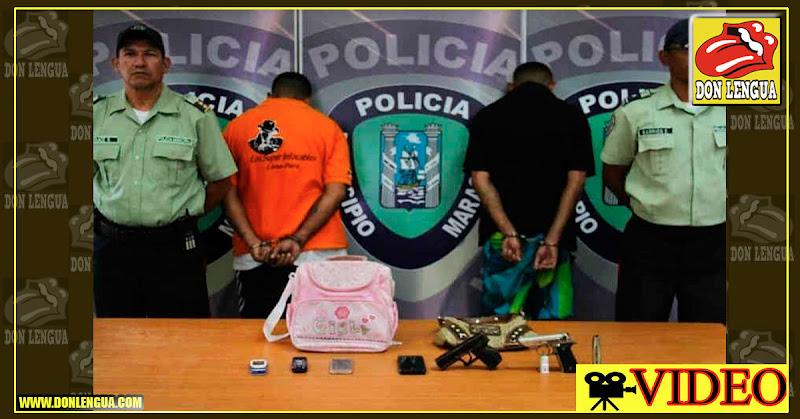Video CCTV del atraco a una venta de cepillados en Maracaibo