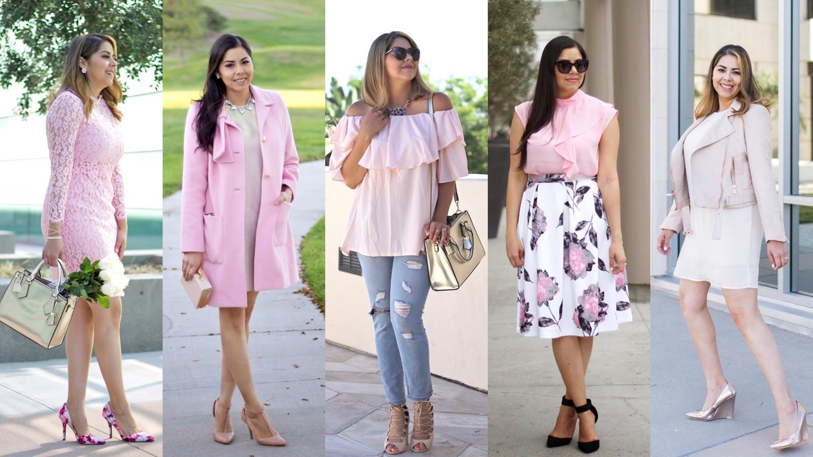 Pink Outfit Ideas for Valentine's Day, Pink Outfits, San Diego Fashion Blogger, Valentine's Day OUtfit inspiration