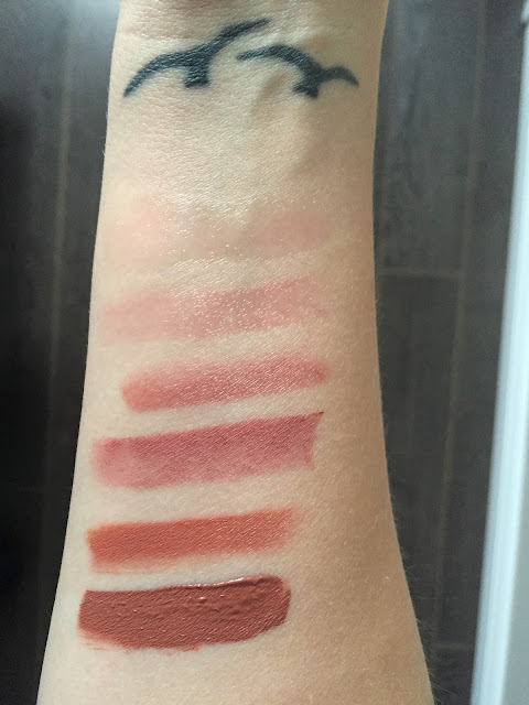 Sephora Favourites Give Me Some Lip Swatches