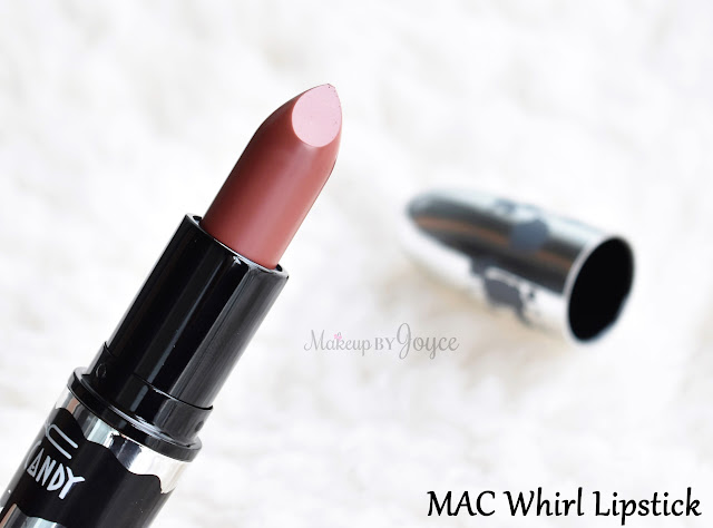 Mac Brooke Candy Limited Edition Whirl Matte Lipstick Swatch