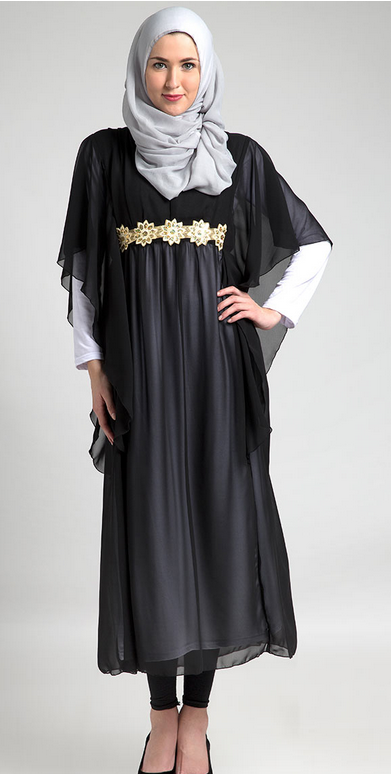 Model Baju Muslim Kaftan Modern