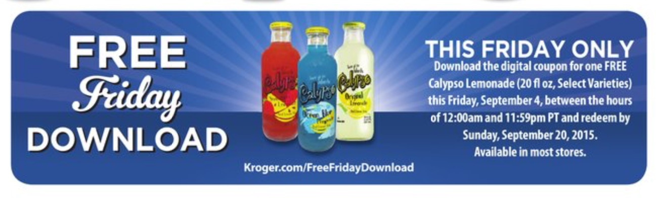 kroger com free friday