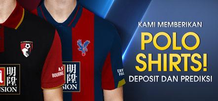 polo shirt M88 Crystal palace FC dan AFC Bournemouth