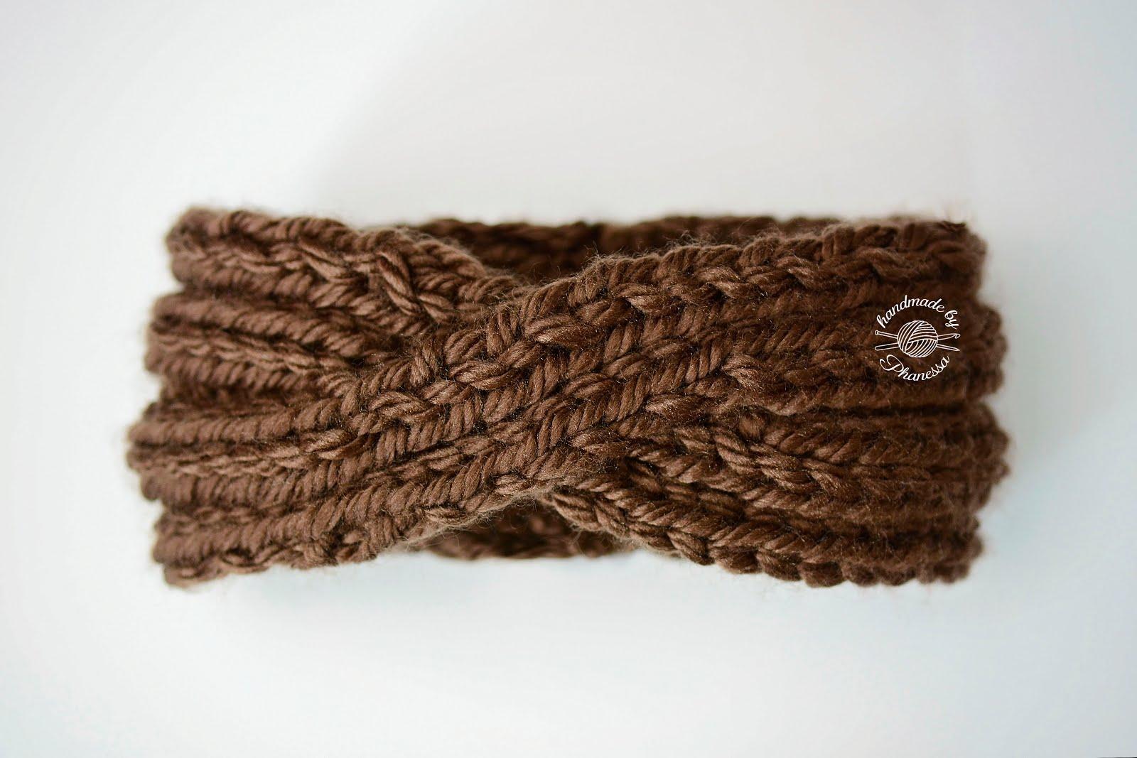 Phanessa's Knits: Twisted Knit Headband