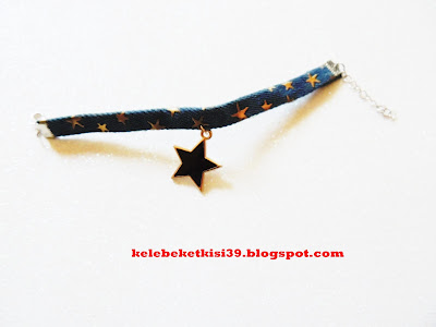 denim star bracelet