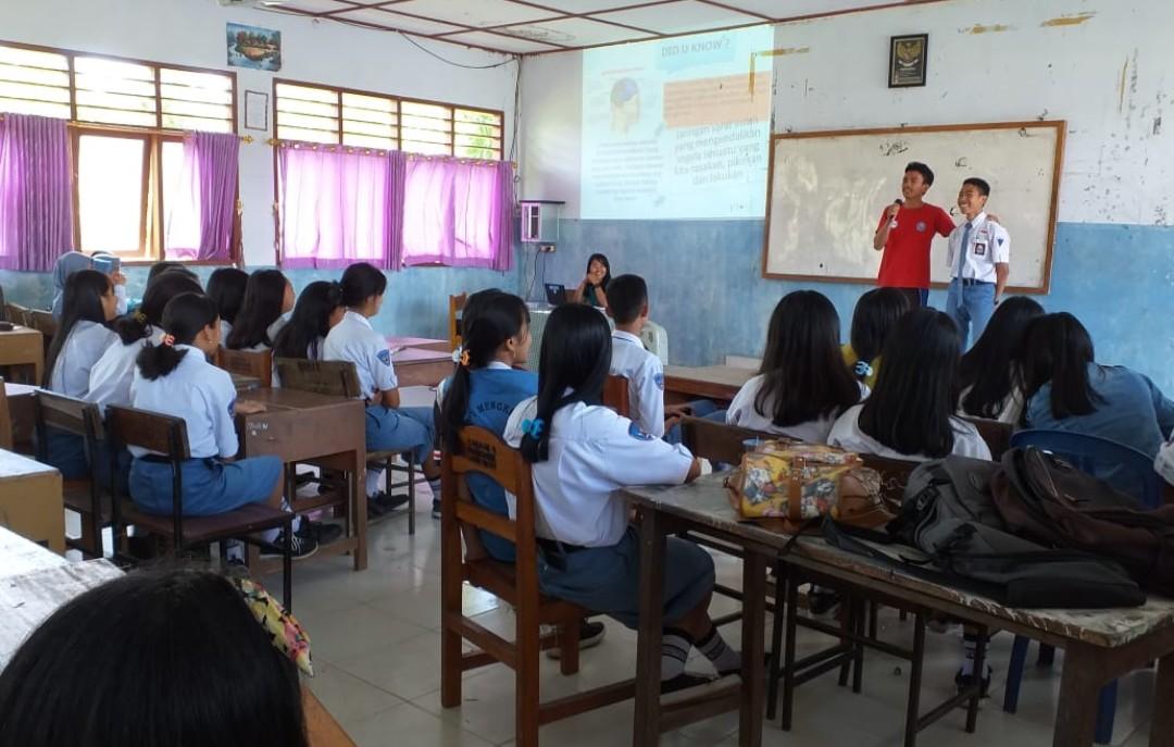 Penyuluh Ajak Pelajar SMAN 3 Tana Toraja Berperan Dalam P4GN BNNK Tana Toraja