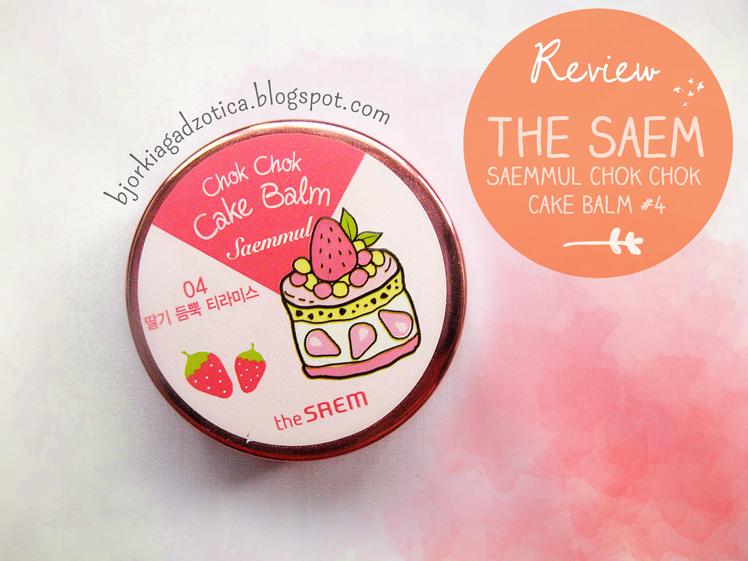 The Saem Saemmul Chok Chok Cake Balm #4