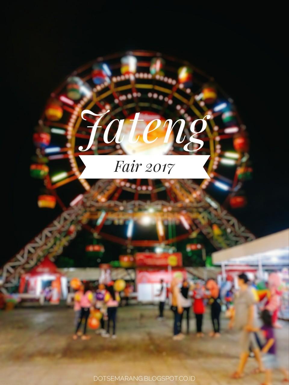 Event Jateng Fair 2017