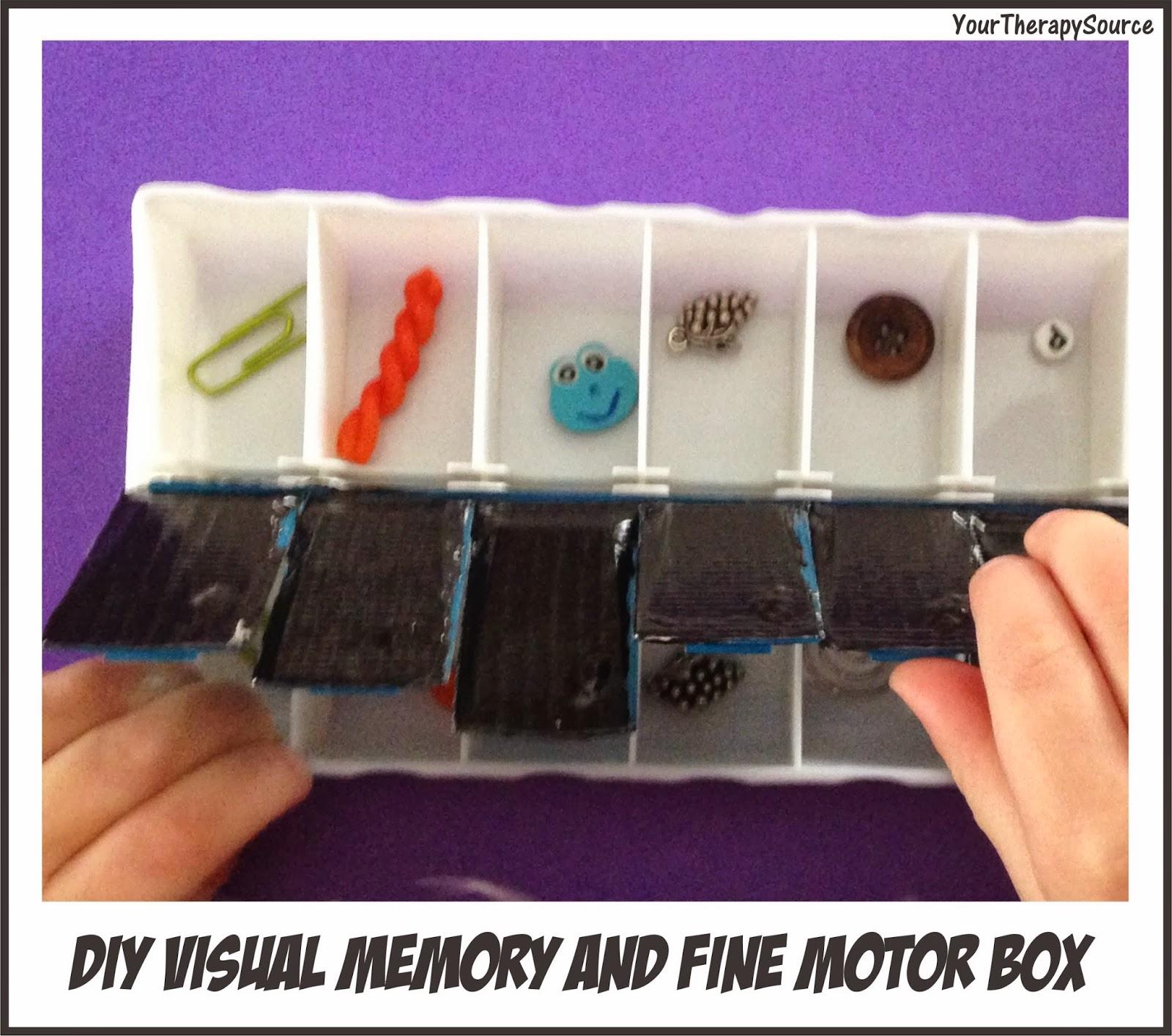 Visual Memory And Fine Motor Box