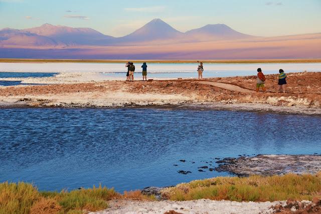 Quantos tons de cor em um só lugar - Laguna Tebinquiche